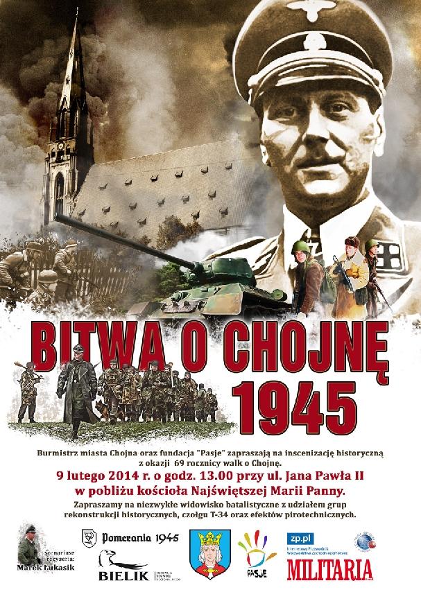 Oficjalny plakat: Bitwa o Chojnę 2014