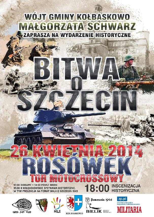 Oficjalny plakat: Bitwa o Szczecin 2014