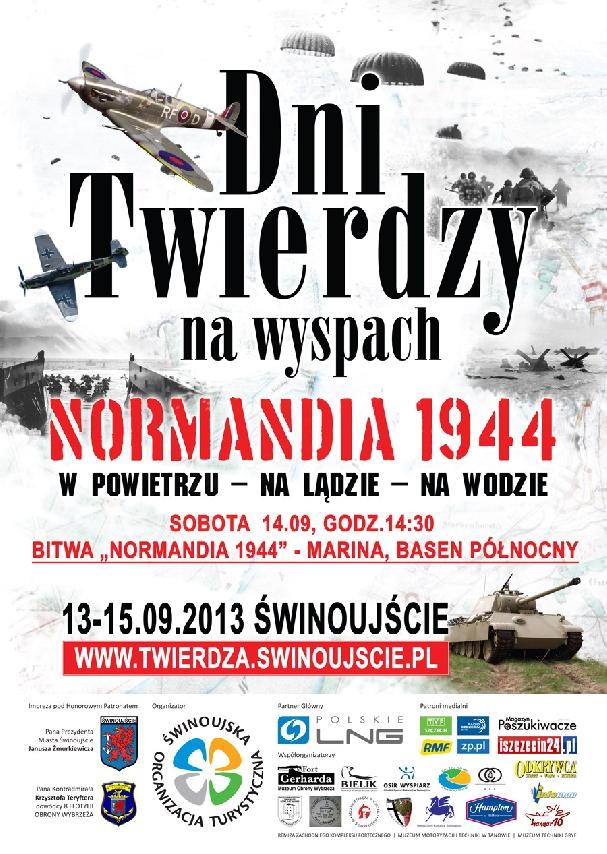 Oficjalny plakat: Dni Twierdzy 2013