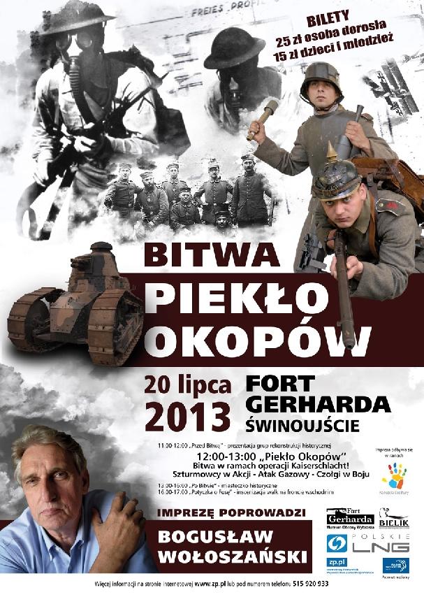 Oficjalny plakat: Piekło Okopów 2013