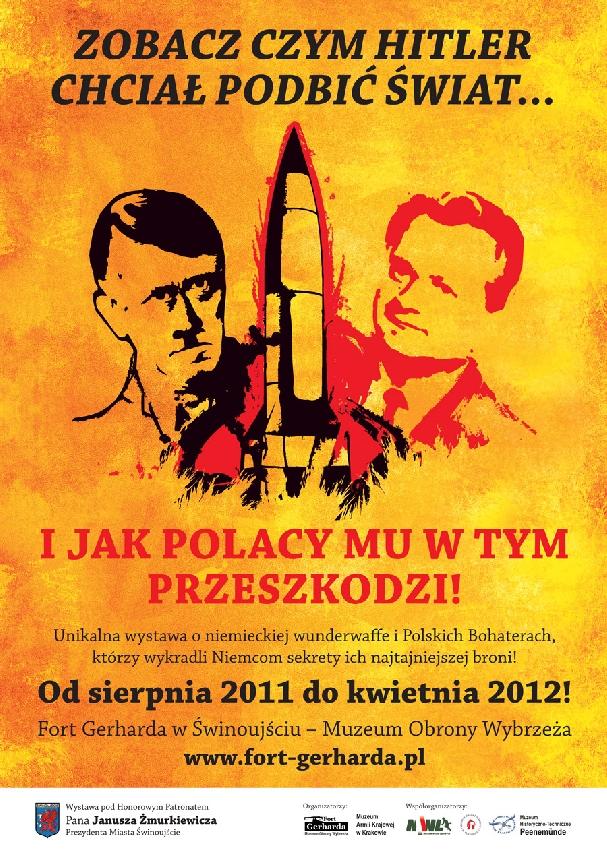 Oficjalny plakat: Wystawa Broni V 2012
