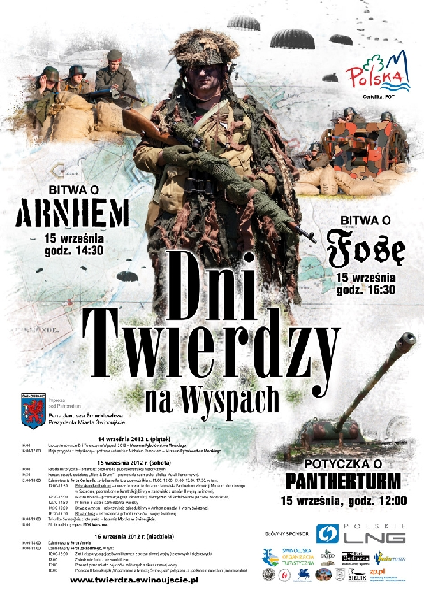 Oficjalny plakat: Dni Twierdzy 2012