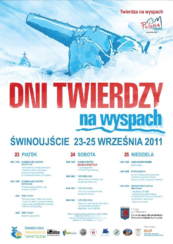 Oficjalny plakat: Dni Twierdzy 2011