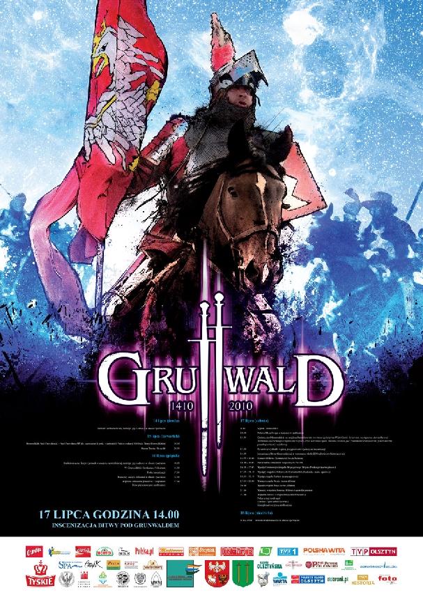 Oficjalny plakat: Bitwa pod Grunwaldem 2010