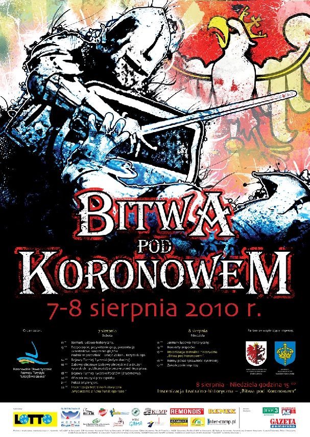Oficjalny plakat: Bitwa pod Koronowem 2010