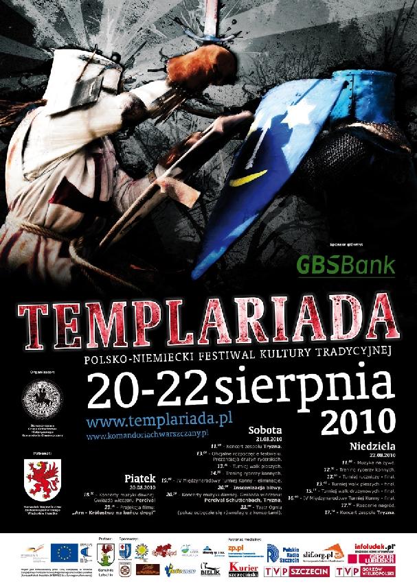 Oficjalny plakat: Templariada 2010