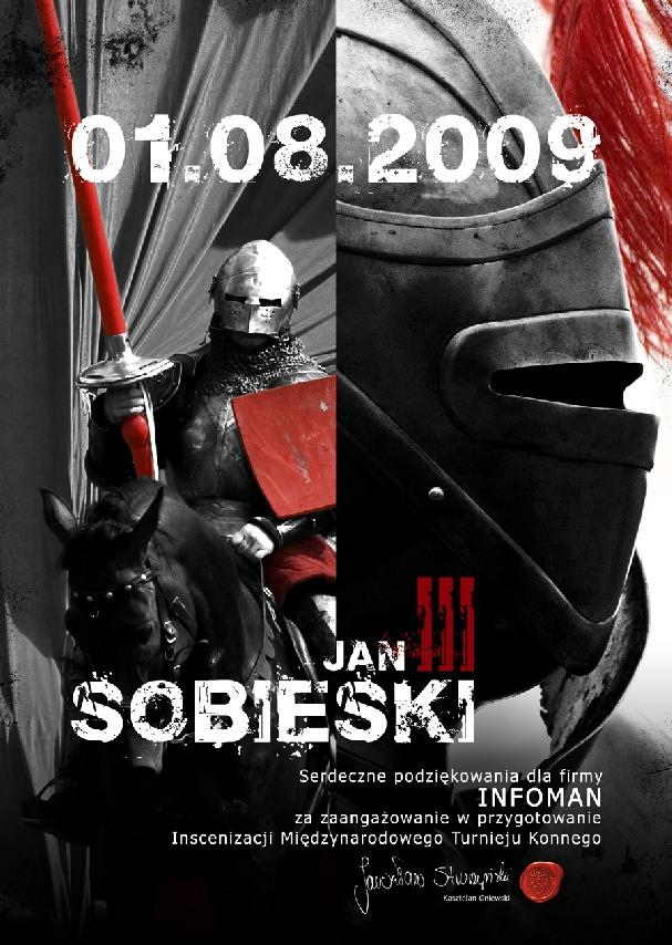 PLakat: Turniej Rycerski Jan III Sobieski 2010